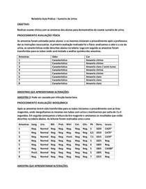 Documento Aula prática exame de urina