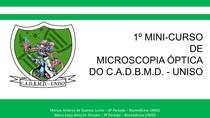 Introdução a Microscopia Óptica