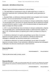 AVALIAÇÃO DEFICIÊNCIA INTELECTUAL - FAVENI