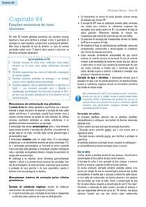 Funções secretoras do trato alimentar (Resumo do cap 64 - Guyton & Hall)