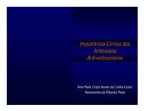 Importância clínica dos anticorpos antieritrocitários