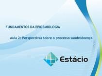 Aula 02 EPIDEMIOLOGIA