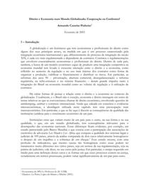 Castelar Pinheiro - Direito e Economia Num Mundo Globalizado