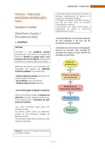 FISIOLOGIA ENDÓCRINA - Hipotálamo e Hipófise