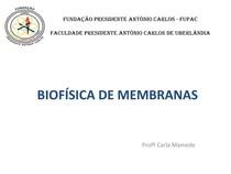 Material - BIOFÍSICA DE MEMBRANAS