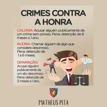 CRIMES CONTRA A HONRA