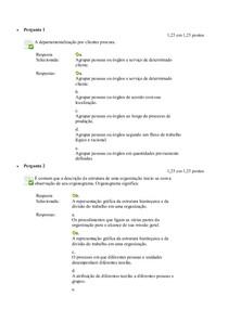 Avaliação On Line 2 (AOL 2)   sistemas de informação gerencial