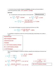 exercícios de resmat II
