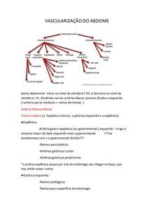 VASCULARIZAÇÃO DO TORAX