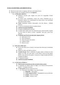 Resumo - Direito Penal I AV2 - Mayana Sales