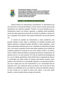 FORÚM - VOLUMETRIA DE PRECIPITAÇÃO