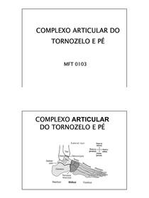 Biomecanica do Tornozelo e Pe