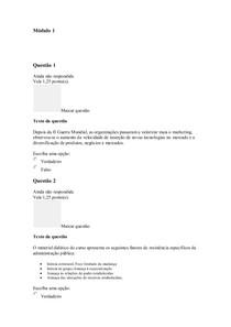 Módulo 1   GESTÃO DA ESTRATÉA COM O USO DO BSC