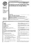 NBR 08453   1984   Cruzeta de Concreto Armado para Redes de Distribuição de Energia