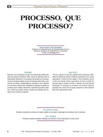 processos que processos