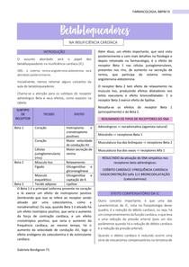 Betabloqueadores na insuficiência cardíaca, FARMACOLOGIA - BBPM III