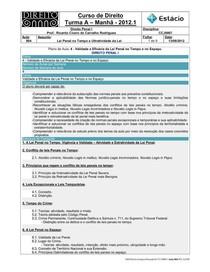 CCJ0007-WL-RA-04-Direito Penal I-Validade e Eficácia da Lei Penal no Tempo e no Espaço _13-08-2012_