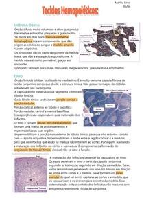 2- Tecidos hematopoéticos