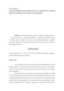 CASOS PRATICA III PENAL (1-9)