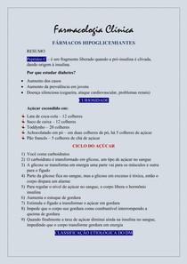 Farmacologia Clínica - Insulina