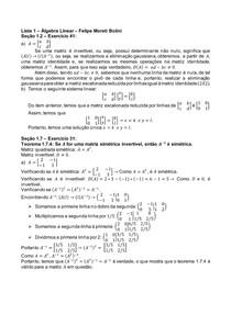 Lista 1 Álgebra Linear Felipe Moreti Bolini