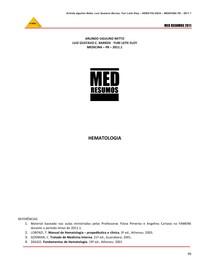 Apostila HEMATOLOGIA COMPLETA