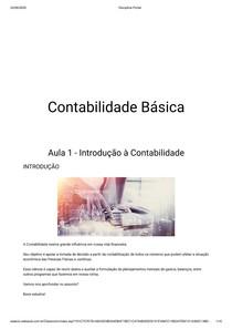 CONTABILIDADE BASICA RESUMO