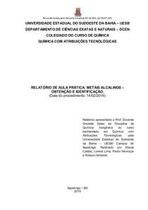 FAMILIA 1A - RELATÓRIO