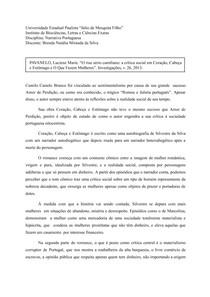 Coração, Cabeça e Estômago, de Camilo Castelo Branco