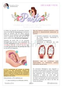 Parto; Fases Clínicas; Mecanismo; Trajeto; Partograma