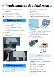 Métodos de avaliação e controle de esterilização