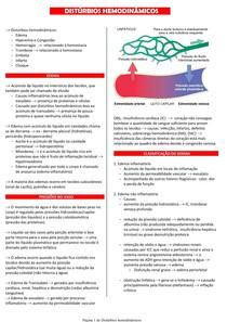 Distúrbios hemodinâmicos - Patologia