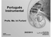 CC-2_1-Português Instrumental-Aula 3 (Un 3 e 4)