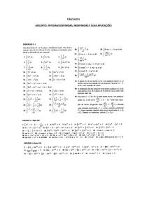 CALCULO II- MATERIAL DE APOIO-INTEGRAIS