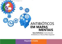 mapas mentais: antibióticos