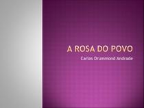 A rosa do povo - Drummond