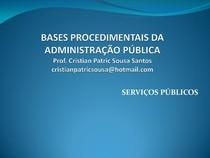 1 Serviços Públicos