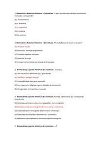 Objetivas Biomecanica