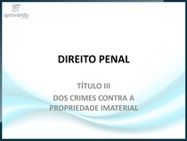 26. Crimes contra propriedade imaterial