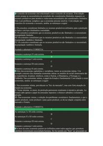AVALIAÇÕES | Economia (ECO20)