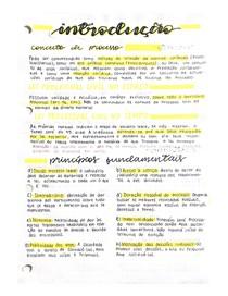 Anotações - Introdução de Processo Civil I