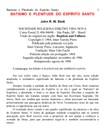 John R. W. Stott  - Batismo e Plenitude do E. Santo
