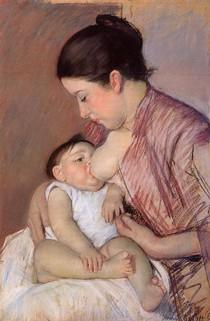 Mary Cassat - motherhood