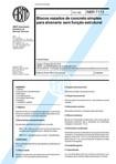 NBR 07173   1982   Blocos Vazados de Concreto Simples para Alvenaria