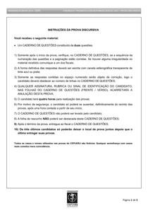 prova discursiva 2018 RESIDENCIA EM CIRURGIA BUCOMAXILOFACIAL UERJ