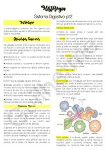 Histologia: Anexos do Sistema Digestivo