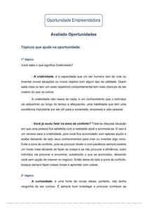 Oportunidade Empreendedora 2.1