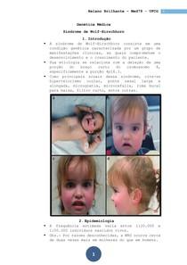 Genética Médica - Sindrome de Wolf Hirschhorn