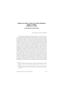 Hegel  G W F - CIENCIA DA LOGICA. LIVRO III