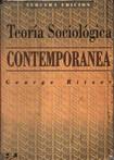 George Ritzer - Teoria Sociologica Contemporanea